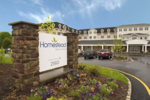 Hamilton NJ Senior Living Community Exterior